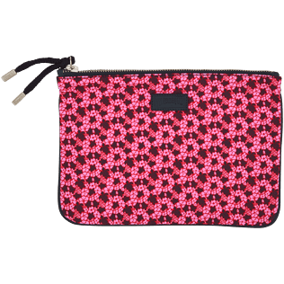 Bags Printed - Micro Turtles Hawaï Zipped case, Pink front