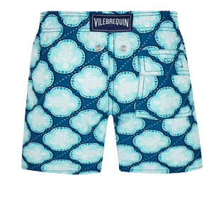 Boys Others Printed - Boys Swimwear Wax Turtles, Acqua back