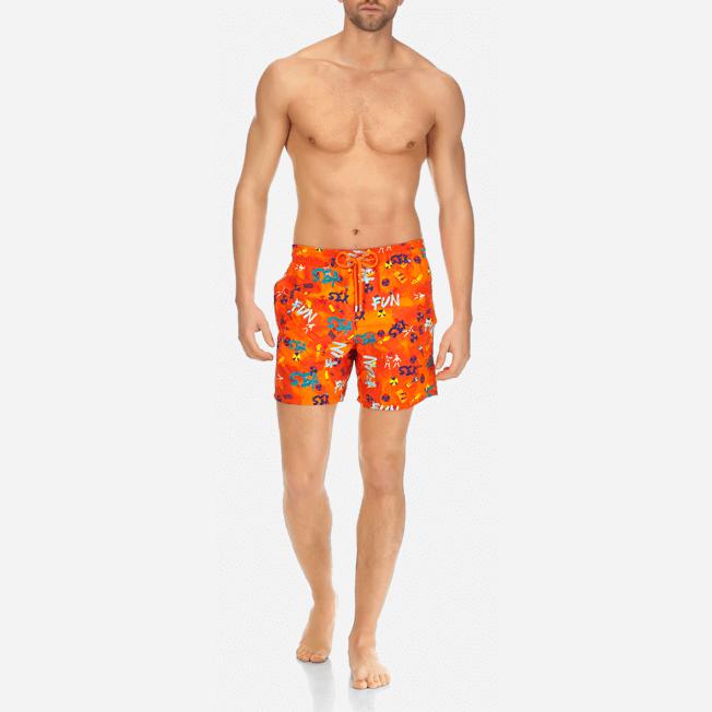 Vilebrequin - Maillot de bain Homme Imprimé et Brodé Sea Sex and Fun - 3