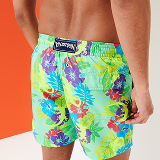 Men Classic Printed - Men Swimwear Les Geckos, Cardamom supp1