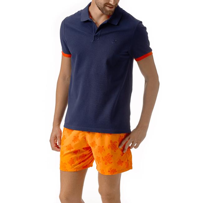 Vilebrequin - Men Cotton Pique Polo Shirt Solid - 3