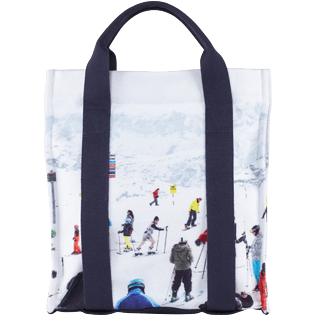 Others Printed - Backpack Massimo Vitali, Sky blue front