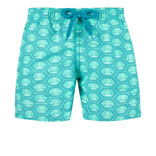 Boys Others Printed - Boys Swimwear Ancre De Chine, Mint front