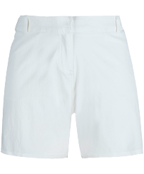 Women Others Solid - Women Long swim short Solid, White front