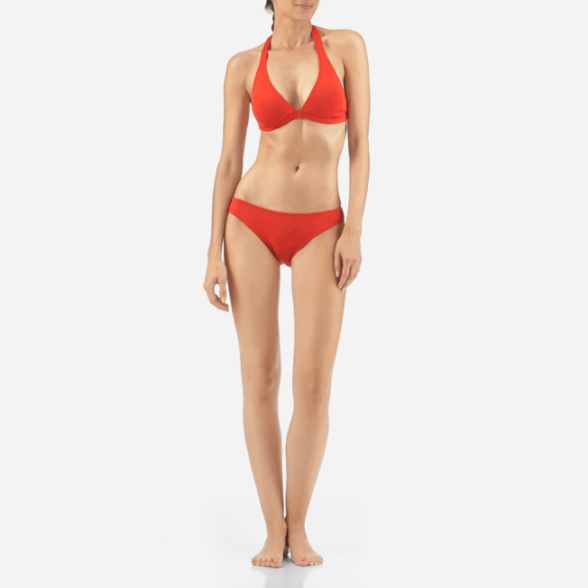 Vilebrequin - Shaping Solid Water Cut bikini bottom - 2