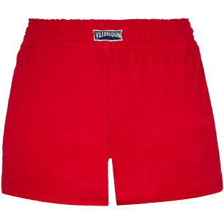Damen Andere Uni - Solid Shortie aus Frottee für Damen, Red polish back