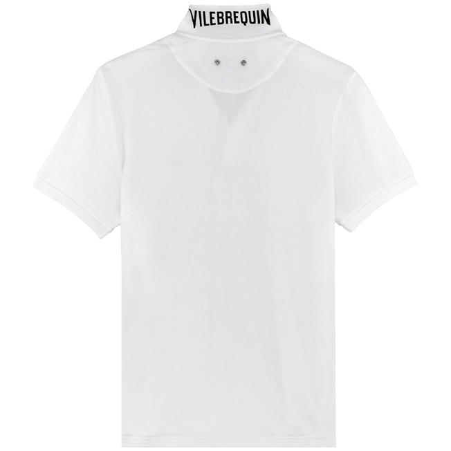 Vilebrequin - Men Cotton Pique Polo Shirt Solid - 2
