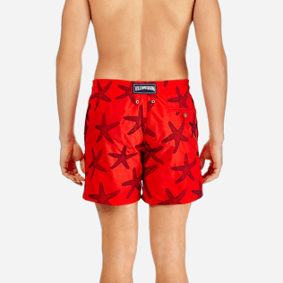 Men Embroidered Embroidered - Men Swimtrunks Embroidered Starlettes - Limited Edition, Poppy red supp2