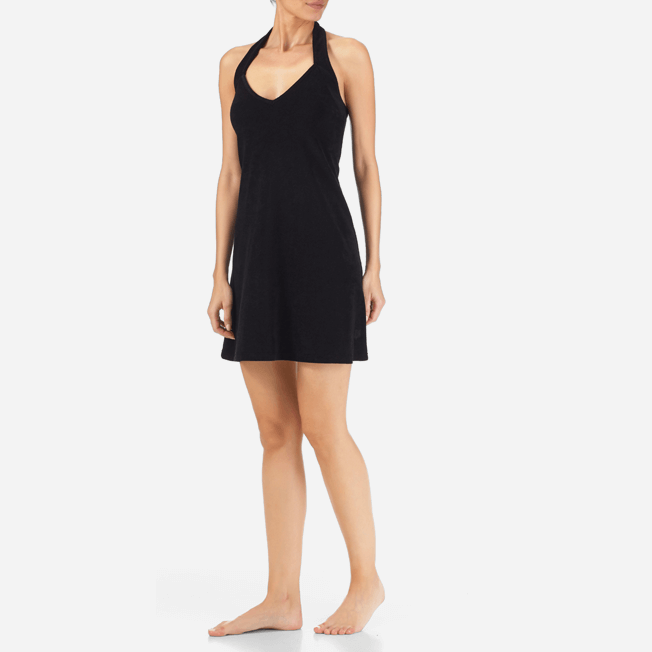 Vilebrequin - Robe courte dos nu en Eponge Femme Unie - 3