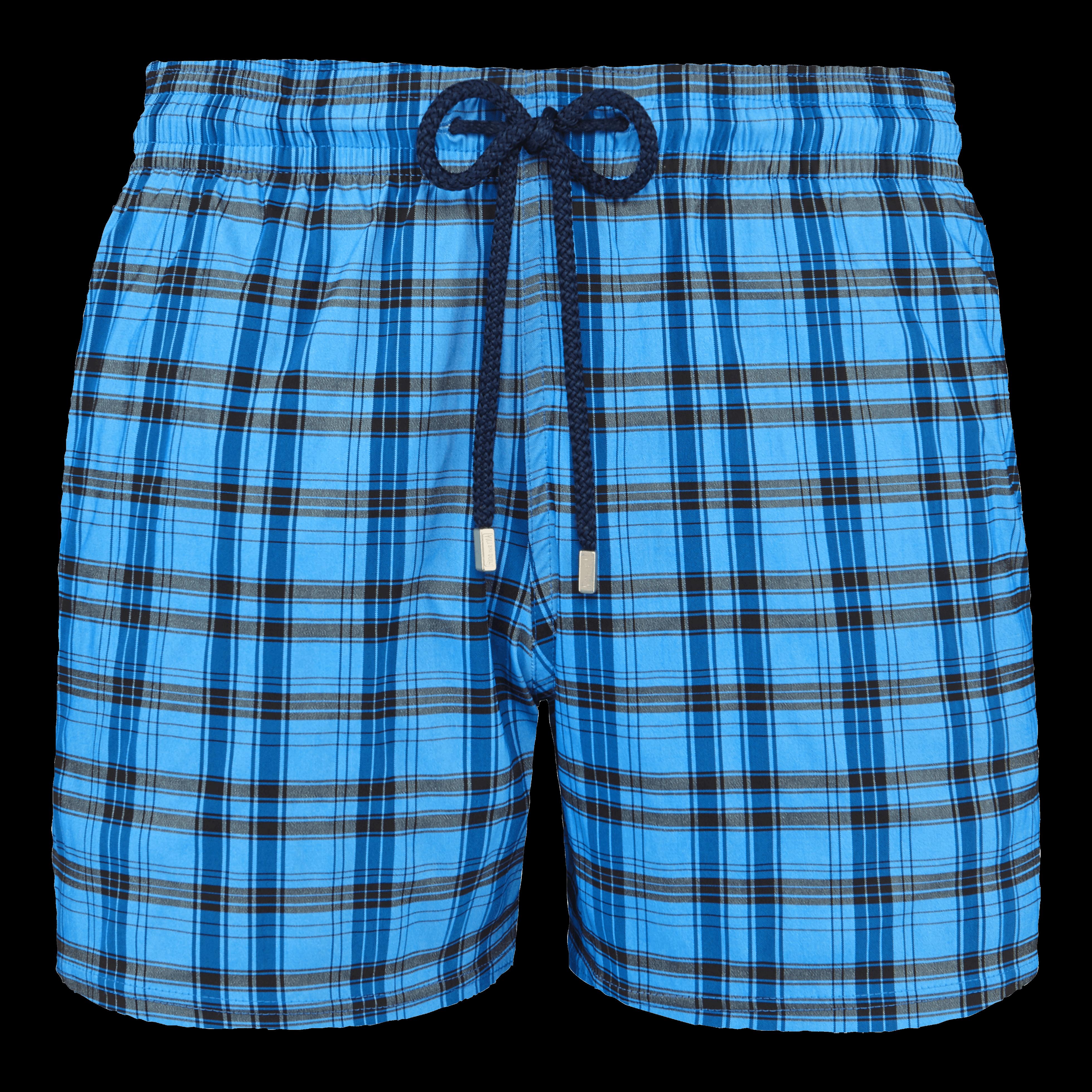Maillots de bain Homme - Men swimwear stretch Carrreaux - MAILLOT DE BAIN - MOORISE - Bleu - XXXL -