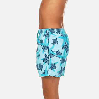 Men Classic Printed - Starlettes & Turtles Swim shorts, Lagoon supp3