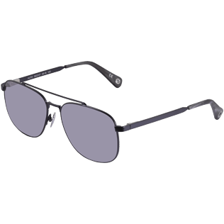 Others Solid - Unisex Sunglasses Polarized Lenses, Navy backworn