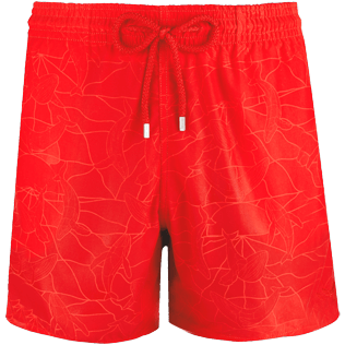 Men Classic / Moorea Printed - Men Water-Reactive Swimwear Magic Whales, Poppy red supp4