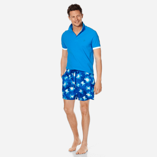Men Ultra-light classique Printed - Men Swim Trunks Ultra-Light and Packable Crystal Turtles, Atoll supp2