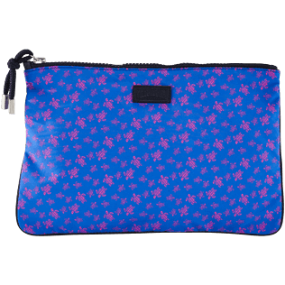 Others Printed - Beach Pouch Micro Ronde Des Tortues, Sea blue front