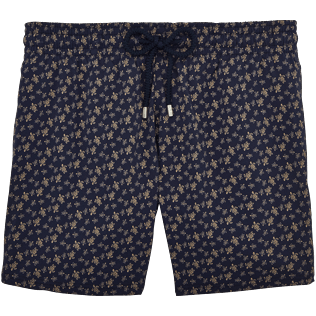 Men Stretch classic Printed - Micro Ronde des Tortues Superflex Superflex Swim shorts, Navy front