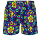 Men Stretch classic Printed - Men Stretch Short Swim Trunks Kaleidoscope, Sapphire back