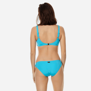 Women Classic brief Solid - Women asymetrical brief bikini Bottom Solid, Horizon backworn