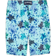 Men Long Printed - Long Cut Swim shorts, Lagoon back