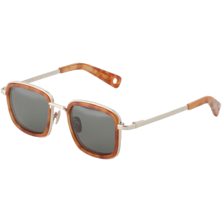Others Solid - Khaki mono Sunglasses, Brown back