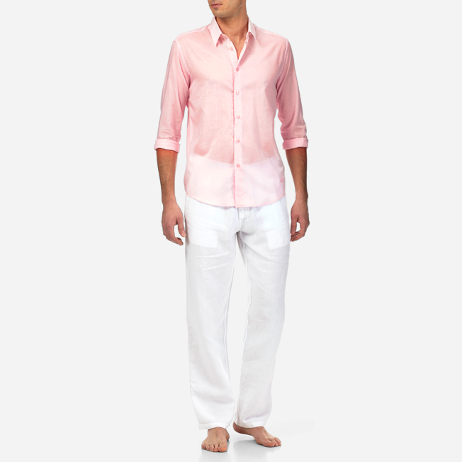 Vilebrequin - Unisex Cotton Shirt Solid - 3