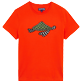 Men 111 Printed - Men Cotton T-Shirt Turtle Swim, Medlar front