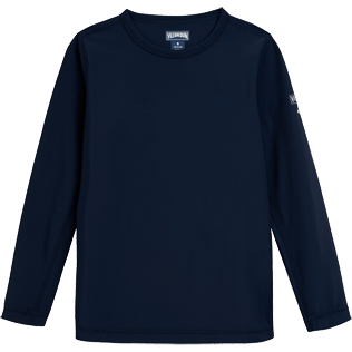 Boys Tee-Shirts Solid - Rashguard Boy, Navy front