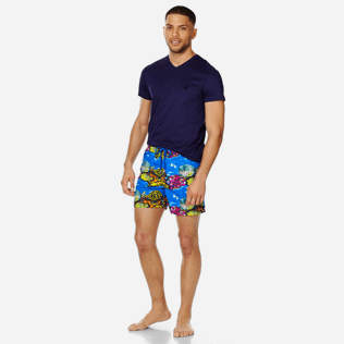 Men Classic Printed - Men Swim Trunks Vilebrequin x Hunt Slonem, Atoll supp2