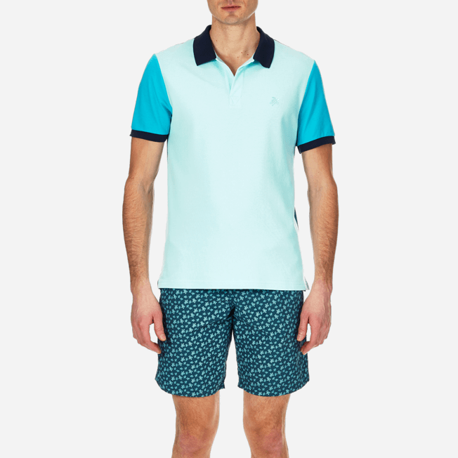 Vilebrequin - Multicolor Cotton pique polo - 5