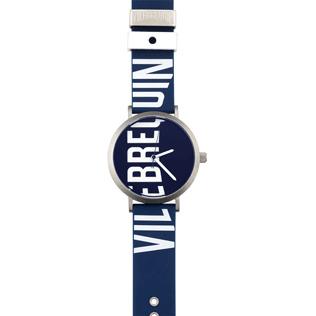 050 Solid - Vilebrequin 43mm Watch, Navy front