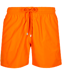 Men Classic Solid - Men Swim Trunks Solid, Apricot front