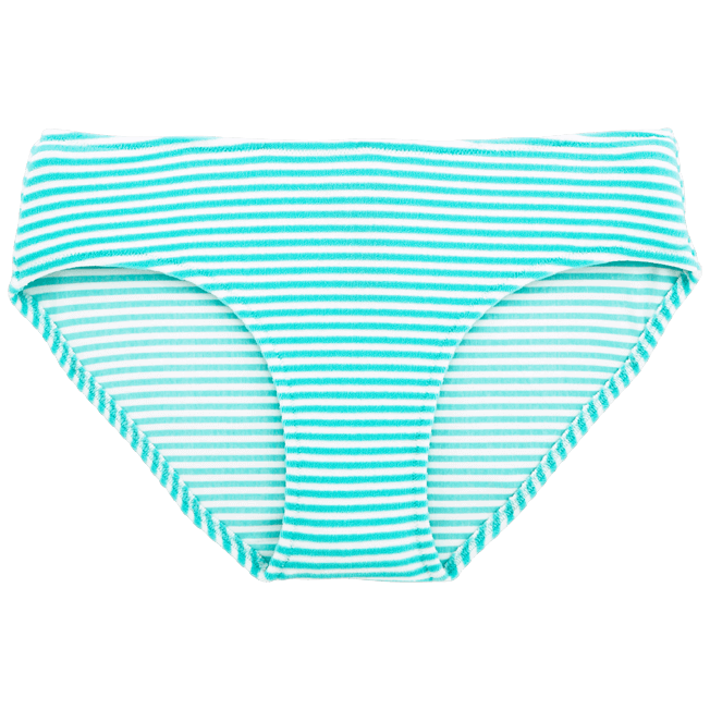 Vilebrequin - Stripped Terry Bikini bottom - 1