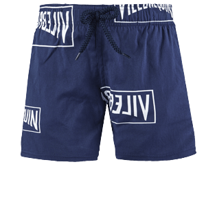 Boys Others Printed - Boys Swimwear Stretch Vilebrequin labels, Navy front