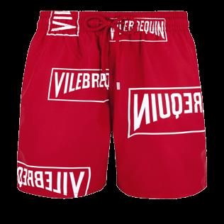 c34d9cba03763 Men Classic Printed - Men Swim trunks Vilebrequin(RED), Red front