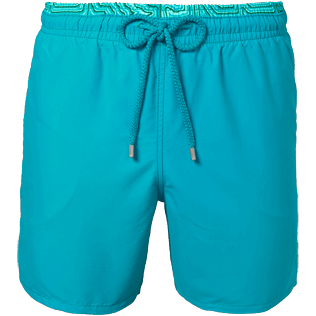 Men Classic / Moorea Solid - Men Swimwear Solid and Hypnotic Turtles, Curacao front