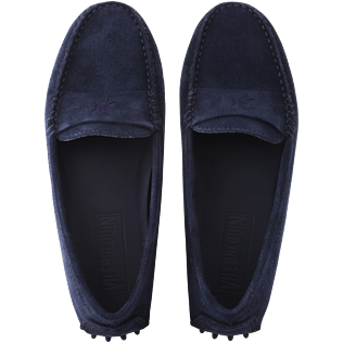 Women Others Solid - Women Very soft Daim Loafers Solid, Navy front