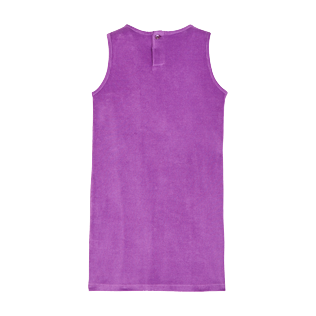 Girls Others Uni - Girls Terry Cloth Dress, Orchid back