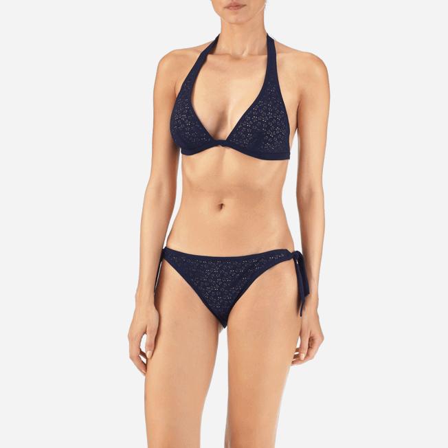 Vilebrequin - Micro Ronde des Tortues Triangle shape bikini top - 4
