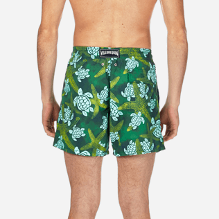 Men Classic Printed - Men Swimtrunks Starlettes & Turtles Vintage, Malachite green supp2