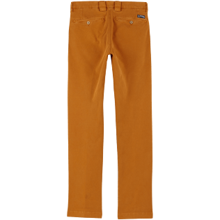 Men Others Solid - Men Chino Pants, Turmeric back