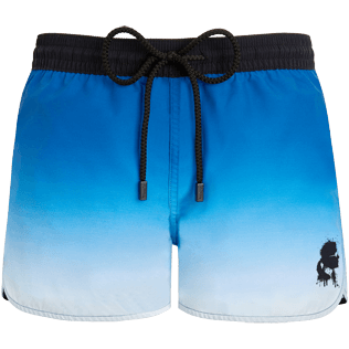 Donna Short Stampato - Shorts Karl Lagerfeld, Oceano front