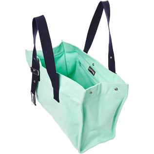 Others Solid - Big Cotton Beach Bag Solid, Mint supp2
