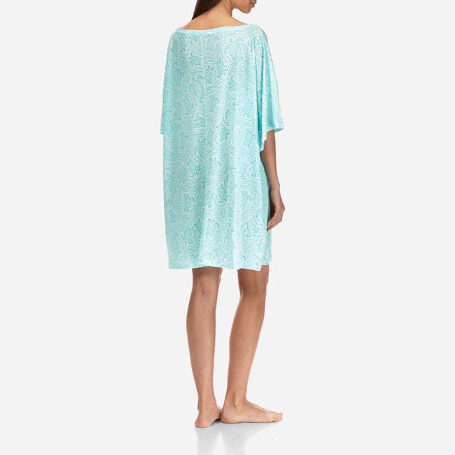 Vilebrequin - Robe T-shirt Oversize en Jersey Tencel Femme Tortues Hypnotiques - 4