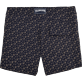 Men Fitted Printed - Micro Ronde des Tortues Superflex Fitted cut Swim shorts, Navy back