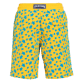 Men Long classic Printed - Men Long Flocked swimtrunks Micro Ronde Des Tortues, Mango back