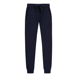 Uomo Altri Unita - Men Jogging Cotton Pants, Blu marine front