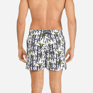 Men Classic / Moorea Printed - Men Swimwear Bamboo Song, White supp2