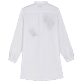 Women Others Embroidered - Women Linen Shirt Dress Go Bananas embroidery, White back