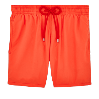 Men Classic Solid - Men swimtrunks Solid, Pumpkin front
