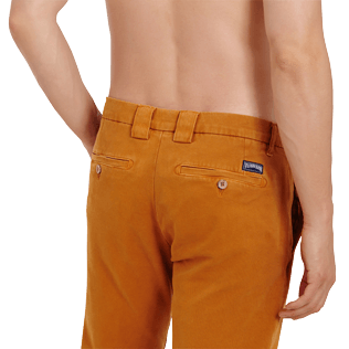 Men Others Solid - Men Chino Pants, Turmeric supp1